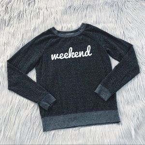 LAST CHANCE ⭐️GRAYSON THREADS Weekend Crew Neck